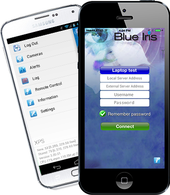 Blue Iris Mobile Apps