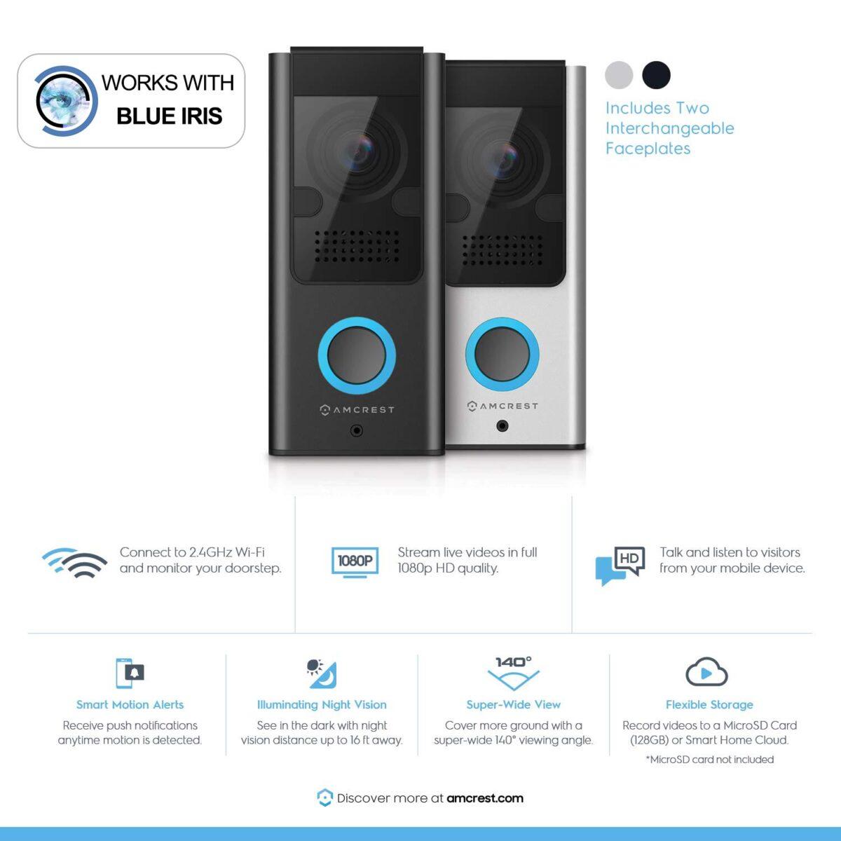 Blue Iris Doorbell