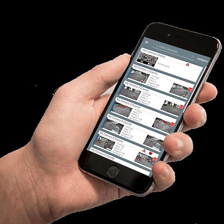 Blue Iris Mobile App